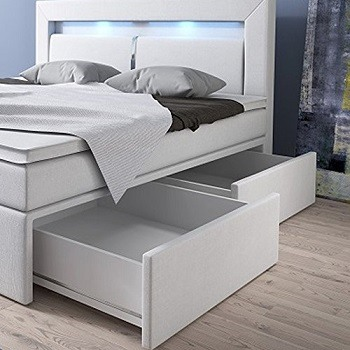 boxspringbett br ssel mit bettkasten im test boxspring. Black Bedroom Furniture Sets. Home Design Ideas