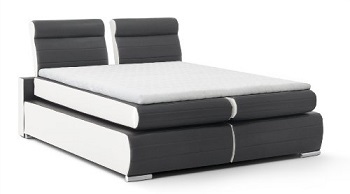 boxspringbett monaco test bewertung b famous boxspring. Black Bedroom Furniture Sets. Home Design Ideas