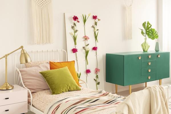 Schlafzimmer ausgefallen Pflanzen