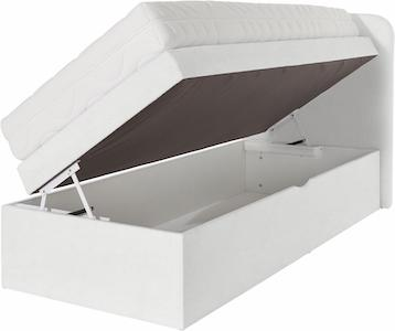 Boxspringbett 100x200 Bettkasten