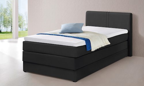 boxspringbett 100x200 kaufen ber 20 shops top. Black Bedroom Furniture Sets. Home Design Ideas