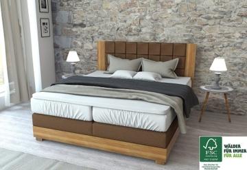 boxspringbett amsterdam boxspring. Black Bedroom Furniture Sets. Home Design Ideas