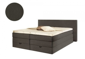 Boxspringbett Bellevue Buffelo Anthrazit