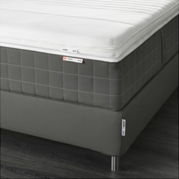 boxspringbett espev r test erfahrung ikea boxspring. Black Bedroom Furniture Sets. Home Design Ideas