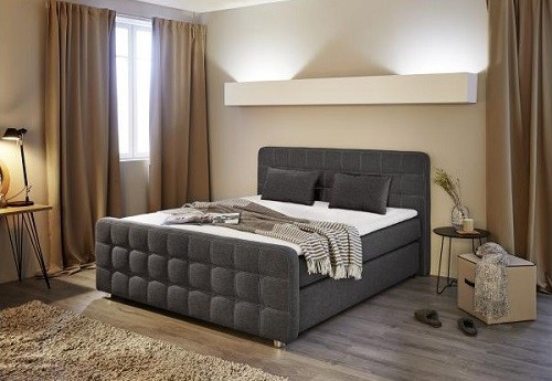 boxspringbett josephine test erfahrung poco. Black Bedroom Furniture Sets. Home Design Ideas