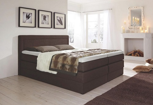 boxspringbett oregon carryhome boxspring. Black Bedroom Furniture Sets. Home Design Ideas