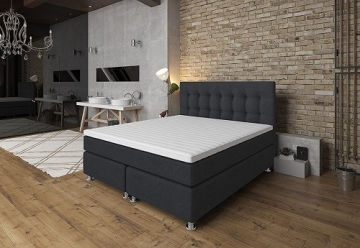 boxspringbett ronda test erfahrung tesladreams boxspring. Black Bedroom Furniture Sets. Home Design Ideas