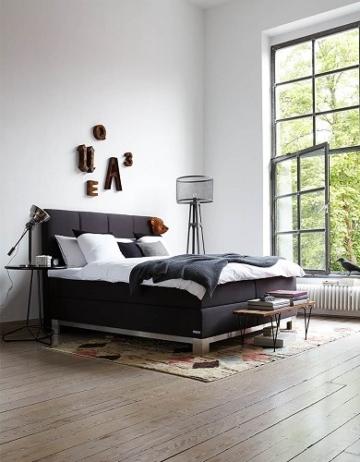 boxspringbett schlaraffia saga test erfahrung boxspring. Black Bedroom Furniture Sets. Home Design Ideas