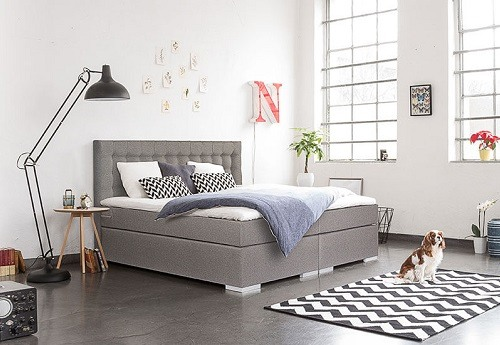 boxspringbett l vgren storebror test erfahrung. Black Bedroom Furniture Sets. Home Design Ideas