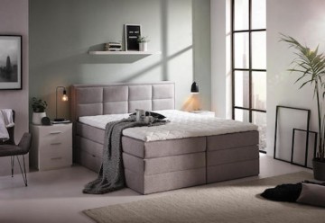 Boxspringbett Velours (Carryhome)