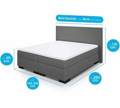 Boxspringbetten diverse Bettgrößen