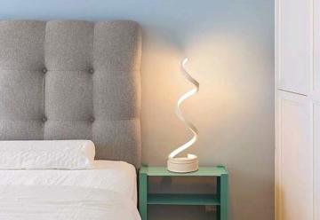 Elinkume-Spiral-Schlafzimmer-Lampe