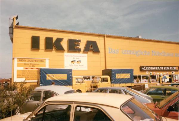 Erste Ikea Filiale Deutschland