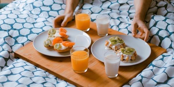 Frühstück im Bett: Einfaches Rezept