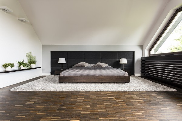 Großes Schlafzimmer Boxspringbett