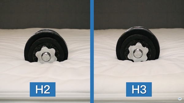 Unterschied H2 / H3 Hanteln