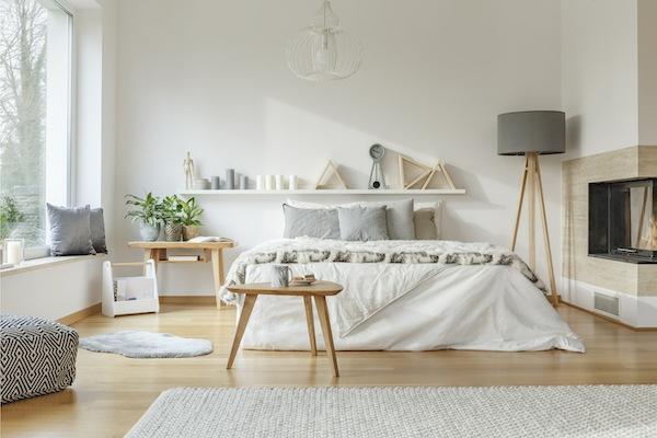 Idee Holz Weiß Grau