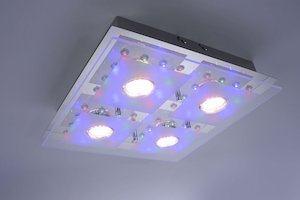 LED Lampe Farbe