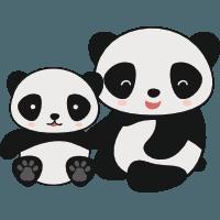 Kind Mutter Panda