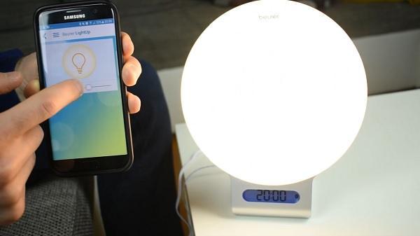 Lichtwecker App Funktion
