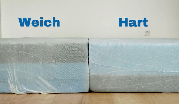 Muun Matratze Innenleben: Harter und weicher Kaltschaum