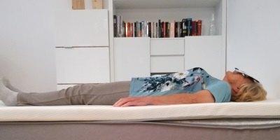 Harte Kombination: Testperson 4 Rückenlage