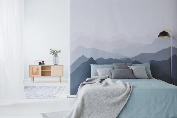 Schlafzimmer Blau mit beruhigender Wirkung