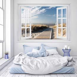 Schlafzimmer Deko Fototapete Strand