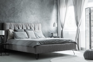 Schlafzimmer Idee Grau Kategorie