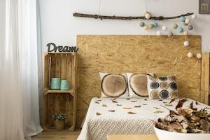 Schlafzimmer Idee Holz