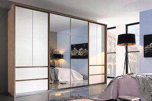 Schlafzimmer Schrank Drehtür