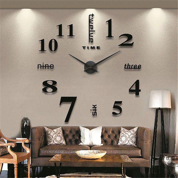 Schlafzimmer Wand Uhr