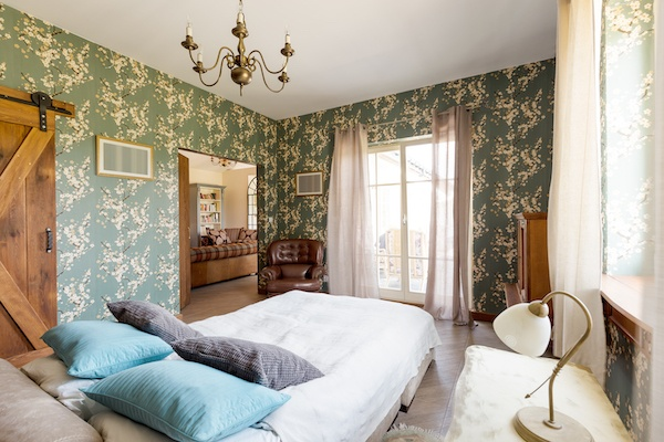 Schlafzimmer rustikal