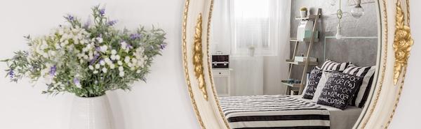 Wandgestaltung Spiegel barock