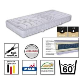 Malie-Matratze TAURUS,Bonell-Federkern+ Comfortflex® Schaum, ca 20 cm hoch, H3, 180 x 200 cm - 1